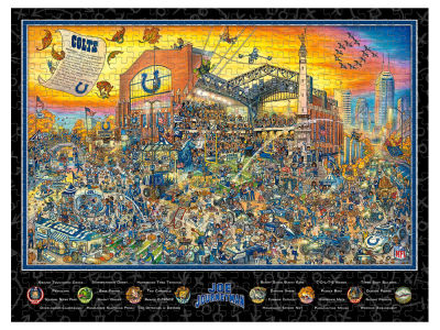 Indianapolis Colts Puzzle Joe Journeyman