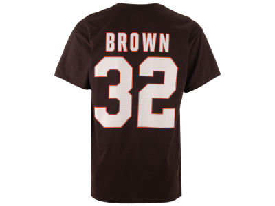 Cleveland Browns Jim Brown Majestic NFL Men's Hall Of Fame Eligible Receiver III T-Shirt
