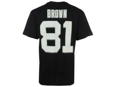 Oakland Raiders Tim Brown Majestic NFL Men's Hall Of Fame Eligible Receiver III T-Shirt