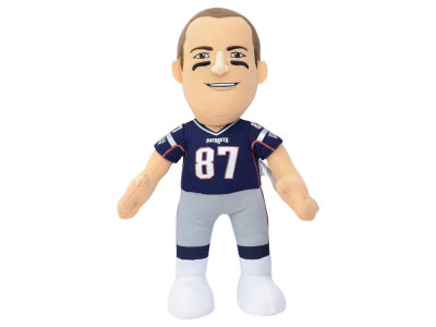New England Patriots Rob Gronkowski 10inch Player Plush Doll