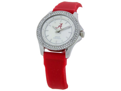 Alabama Crimson Tide Jack Mason Ladies Glitz Silicone Strap Watch