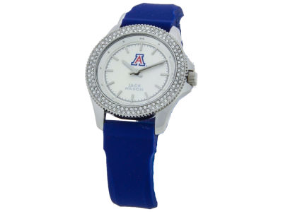 Jack Mason Ladies Glitz Silicone Strap Watch