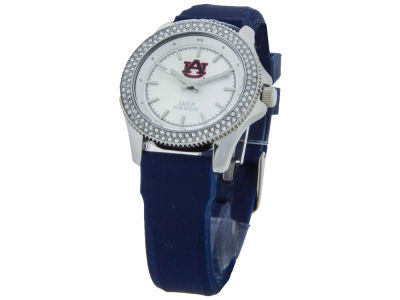 Auburn Tigers Ladies Glitz Silicone Strap Watch
