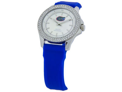 Florida Gators Jack Mason Ladies Glitz Silicone Strap Watch