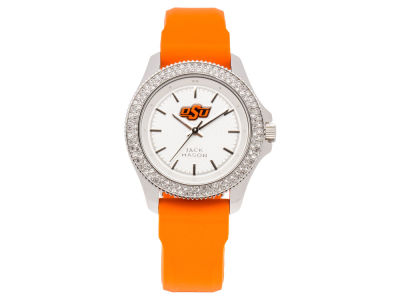 Oklahoma State Cowboys Ladies Glitz Silicone Strap Watch