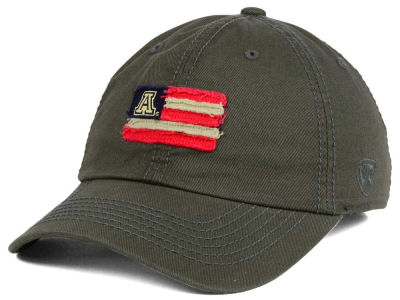 Arizona Wildcats Top of the World NCAA Flag Adjustable Cap