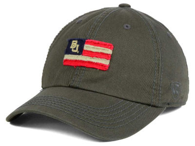 Baylor Bears Top of the World NCAA Flag Adjustable Cap