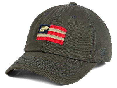 Purdue Boilermakers Top of the World NCAA Flag Adjustable Cap