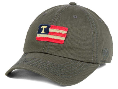 Tennessee Volunteers Top of the World NCAA Flag Adjustable Cap