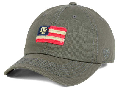 Texas A&M Aggies Top of the World NCAA Flag Adjustable Cap