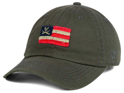 Virginia Cavaliers Top of the World NCAA Flag Adjustable Cap
