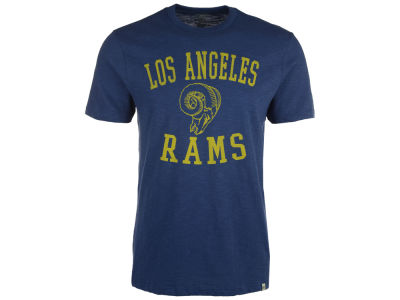 Los Angeles Rams NFL Men's Retro Logo Scrum T-Shirt