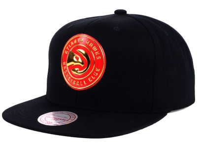 Atlanta Hawks Mitchell and Ness NBA Carat Snapback Cap