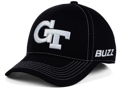 Georgia-Tech Top of the World NCAA Dynamic Stretch Cap