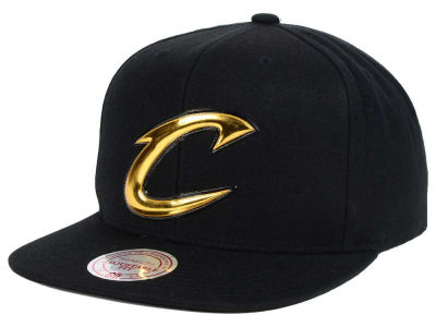 Cleveland Cavaliers Mitchell and Ness NBA Carat Snapback Cap