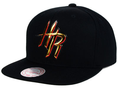 Houston Rockets Mitchell and Ness NBA Carat Snapback Cap