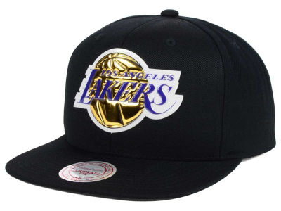 Los Angeles Lakers Mitchell and Ness NBA Carat Snapback Cap