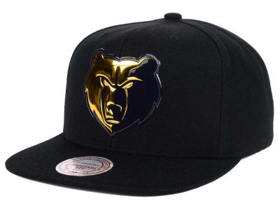 Memphis Grizzlies Mitchell and Ness NBA Carat Snapback Cap