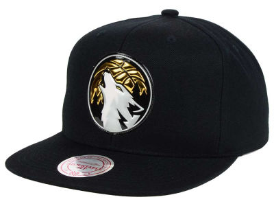 Minnesota Timberwolves Mitchell and Ness NBA Carat Snapback Cap
