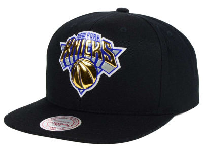 New York Knicks Mitchell and Ness NBA Carat Snapback Cap