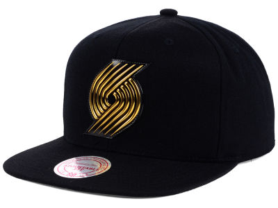 Portland Trail Blazers Mitchell and Ness NBA Carat Snapback Cap