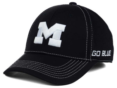 Michigan Wolverines Top of the World NCAA Dynamic Stretch Cap