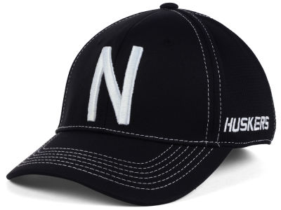 Nebraska Cornhuskers Top of the World NCAA Dynamic Stretch Cap