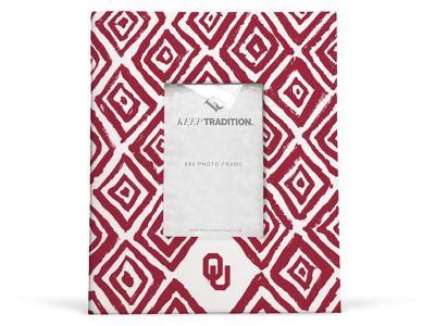Oklahoma Sooners Diamond Picture Frame