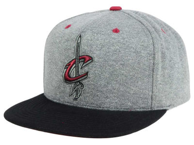 Cleveland Cavaliers Mitchell and Ness NBA Black Broad St Snapback Cap