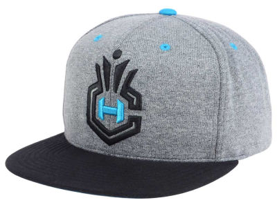 Charlotte Hornets Mitchell and Ness NBA Black Broad St Snapback Cap