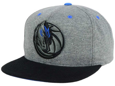 Dallas Mavericks Mitchell and Ness NBA Black Broad St Snapback Cap