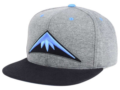 Denver Nuggets Mitchell and Ness NBA Black Broad St Snapback Cap