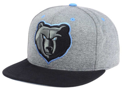 Memphis Grizzlies Mitchell and Ness NBA Black Broad St Snapback Cap