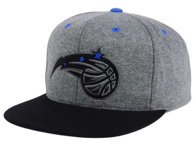 Orlando Magic Mitchell and Ness NBA Black Broad St Snapback Cap