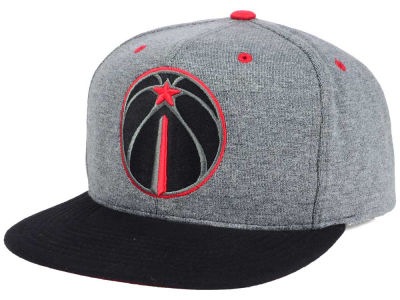 Washington Wizards Mitchell and Ness NBA Black Broad St Snapback Cap