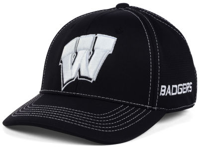 Wisconsin Badgers Top of the World NCAA Dynamic Stretch Cap
