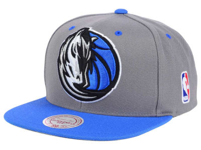 Dallas Mavericks Mitchell and Ness NBA Under Over Snapback Cap