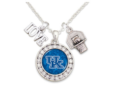 Kentucky Wildcats Basketball Love Necklace