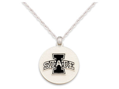 Iowa State Cyclones Matte Medallion Necklace