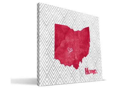 Ohio State Buckeyes Home Canvas Print