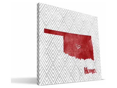Oklahoma Sooners Home Canvas Print