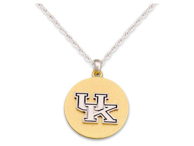 Kentucky Wildcats Matte Medallion Necklace