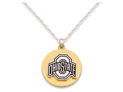 Ohio State Buckeyes Matte Medallion Necklace