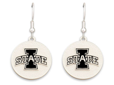 Iowa State Cyclones Matte Medallion Earring