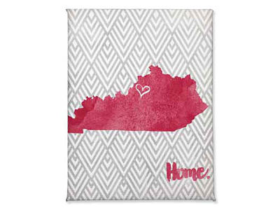 Louisville Cardinals Home Magnet
