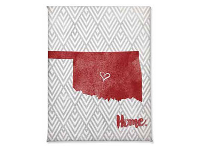 Oklahoma Sooners Home Magnet