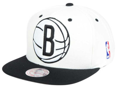 Brooklyn Nets Mitchell and Ness NBA Undertime Snapback Cap
