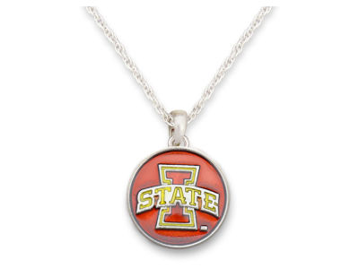 Iowa State Cyclones Iridescent Collegiate Disk Necklace