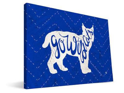 Kentucky Wildcats Mascot Canvas Print