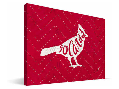 Louisville Cardinals Mascot Canvas Print